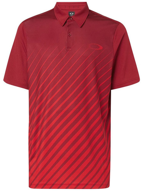 Oakley Golf Ellipse Gradient Polo - Raspberry
