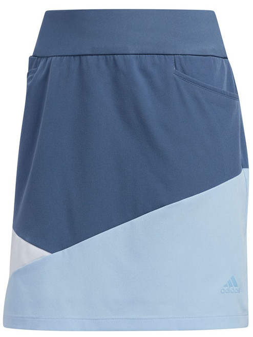 Adidas W Colourblocked Skort - Tech Ink
