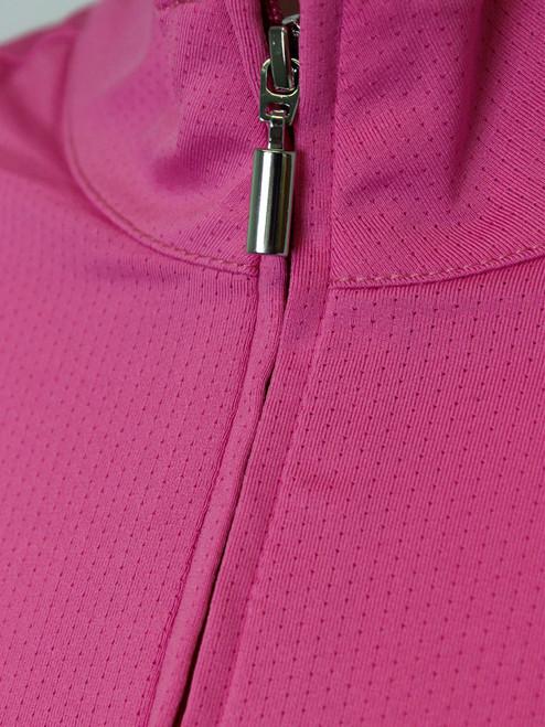 Birdee Golf Ladies Breeze UV Long Sleeve Top - Cerise