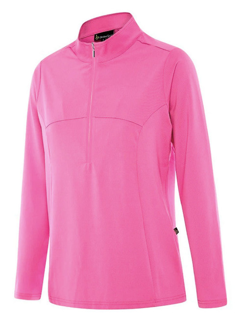 Birdee Golf Ladies Breeze UV Long Sleeve Top - Cerise