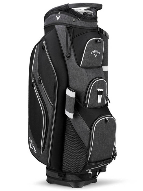 Callaway Forrester 19 Cart Bag - Black Silver