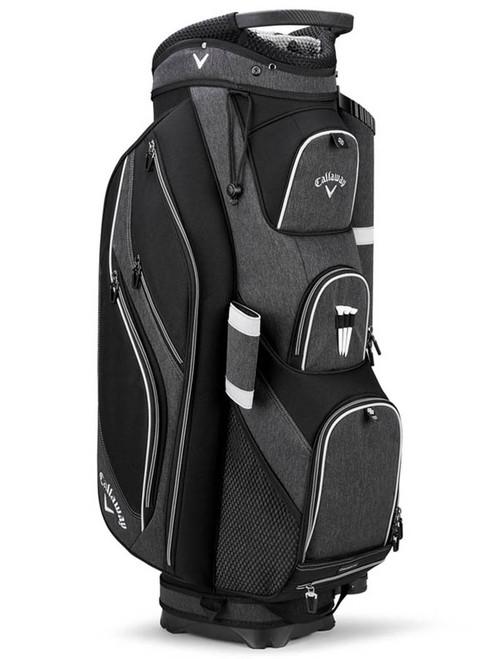 Callaway Forrester 19 Cart Bag - Black Silver