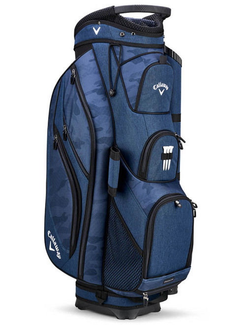 Callaway Forrester 19 Cart Bag - Navy/Camo/Royal