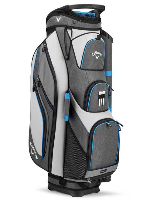 Callaway Forrester 19 Cart Bag - Silver/Titanium/Royal