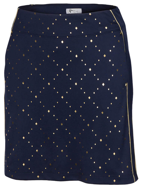 Greg Norman W Tinseltown Pull-On Knit Skort - Navy