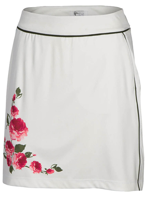 Greg Norman W Calvary Pull-On Knit Skort - Champagne