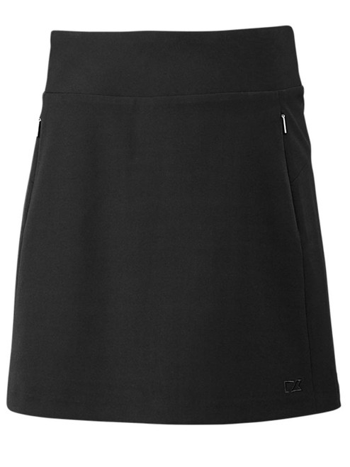 Cutter & Buck DryTec Pacific Pull On Skort - Black