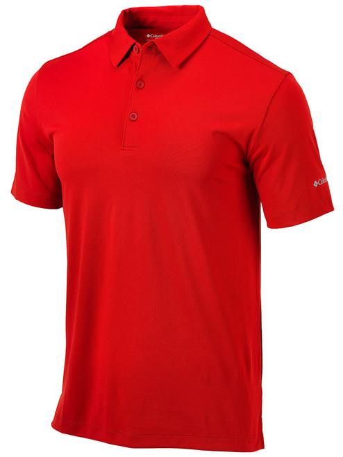 Columbia Golf Omni-Wick Drive Polo - Intense Red