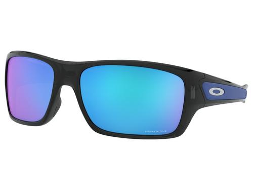 Oakley Turbine Sunglasses - Black Ink w/ Prizm Sapphire