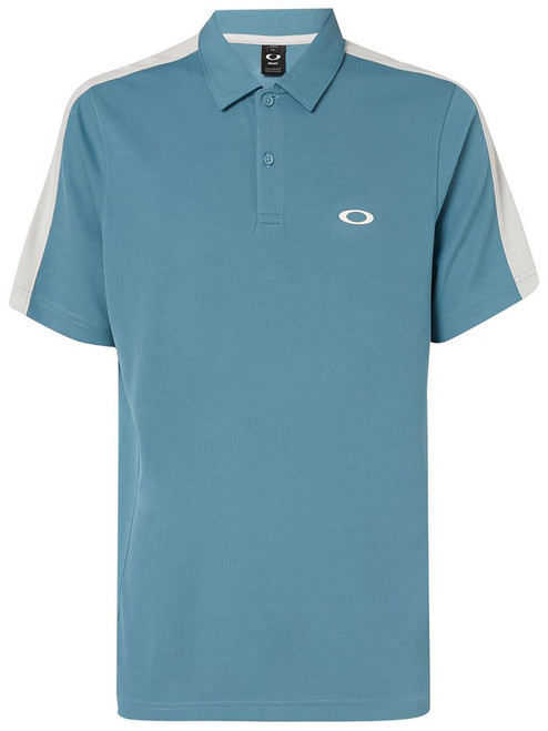 Oakley Perforated Solid Polo - Alien Blue