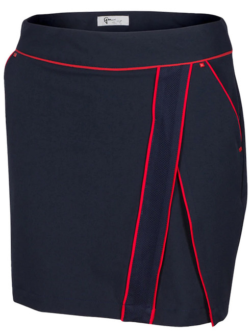 Greg Norman W ML75 Team Pull-On Skort - Dark Navy
