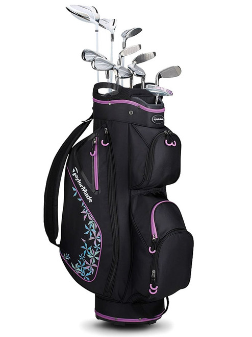 TaylorMade Kalea 3 Ladies Package - Black/Violet