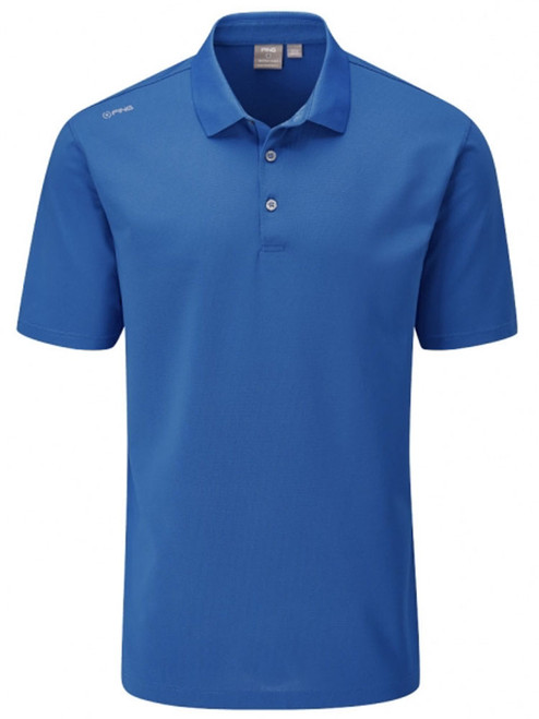 Ping Lincoln Tailored Fit Polo - Snorkel Blue