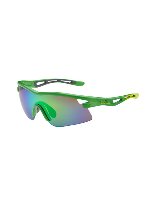 Bolle Vortex Sunglasses - Green w/ Brown Emerald