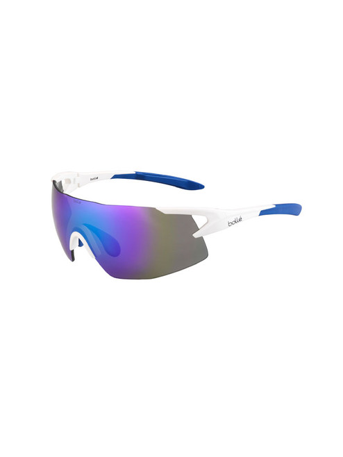 Bolle 5th Element Sunglasses - Matte White w/ Blue Violet