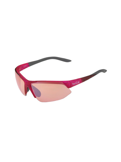 Bolle Breakaway Sunglasses - Shiny Pink Grey w/ Mod Rose