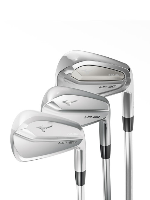 Mizuno MP-20 Irons - Combination Set Steel Shaft