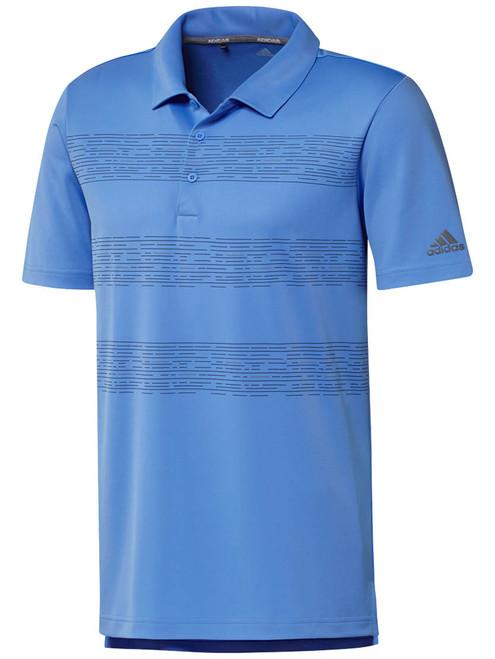 Adidas 3-Stripes Polo - Real Blue