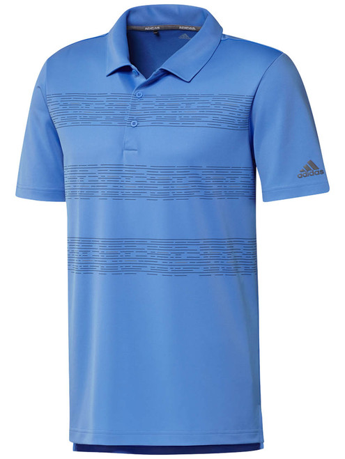 Adidas 3-Stripes Polo - Real Blue