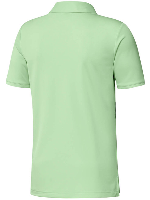 Adidas Badge Polo - Glow Green