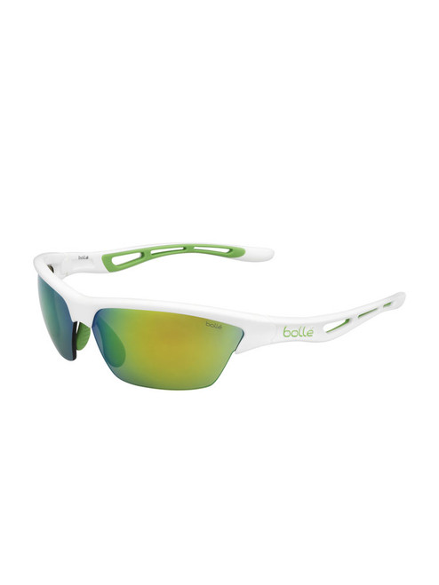 Bolle Tempest Sunglasses - Shiny White w/ Mod Brown Emerald