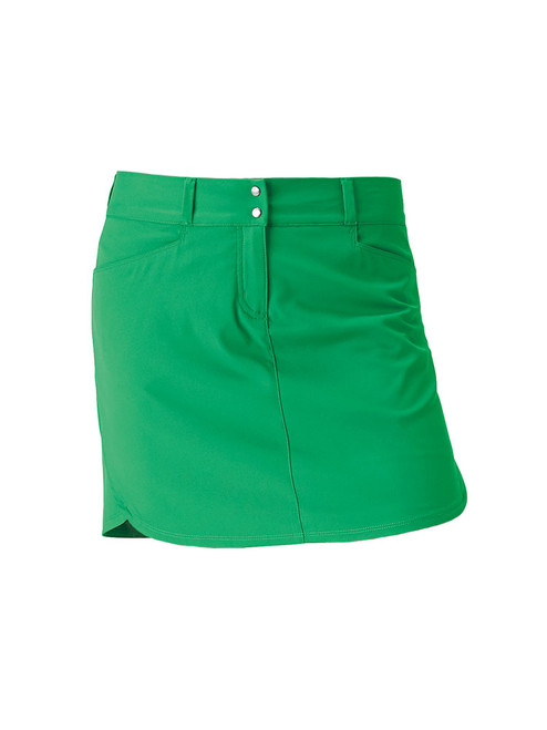 Adidas Essentials 3-Stripe Skort - Fresh Lime