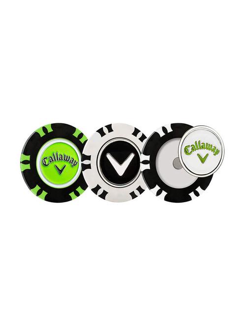 Callaway Dual Mark Poker Chip 3 Pack