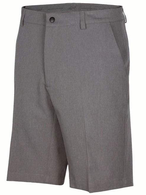 Greg Norman Hybrid Classic Pro-Fit Short - Steel Heather