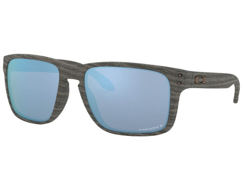 Oakley Holbrook XL - Woodgrain w/ Prizm Deep H2O Polarised
