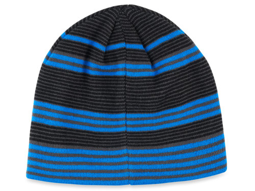 Callaway Winter Chill Beanie - Black/Royal/Charcoal