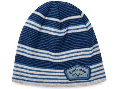 Callaway Winter Chill Beanie - Blue/Silver/Navy