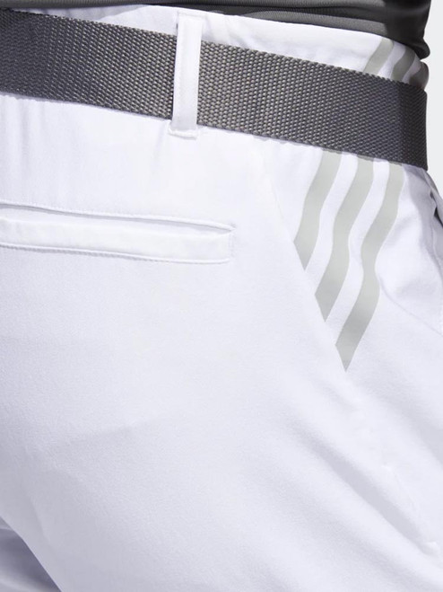 Adidas Ultimate 3-Stripe Tapered Pant - White
