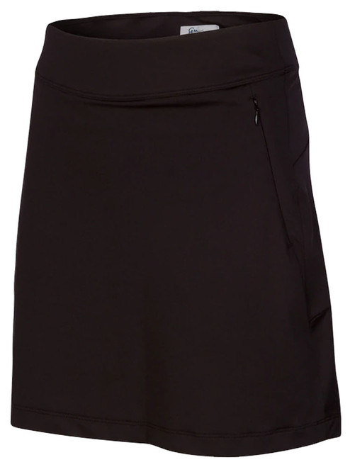 Greg Norman Flounce Pull-On Skort - Black
