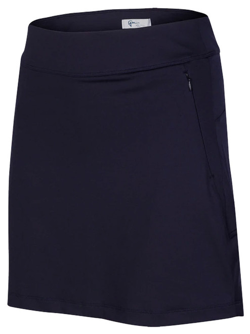 Greg Norman Flounce Pull-On Skort - Navy