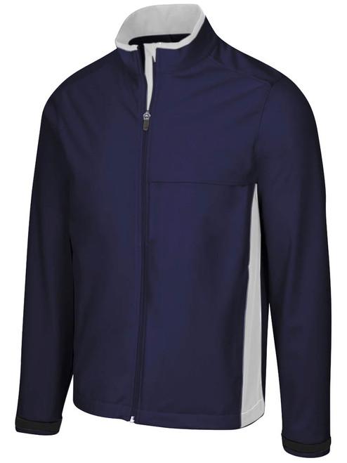 Greg Norman Weatherknit Full Zip Jacket - Navy