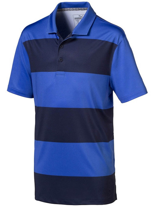 Puma JR Raleigh Polo - Dazzling Blue/Peacoat