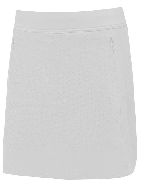 Callaway W Fast Track Perforated Skort (43cm) - Brilliant White