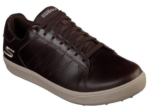 Skechers Go Golf Drive 4 LX Golf Shoes - Chocolate