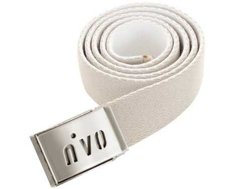Nivo W Ima Reversible Belt - Cement/White