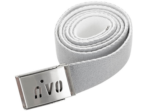 Nivo W Ima Reversible Belt - Light Grey/White