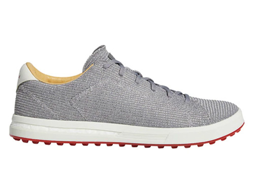 Adidas Adipure SP Knit Golf Shoes - Grey Three/Silver Met.