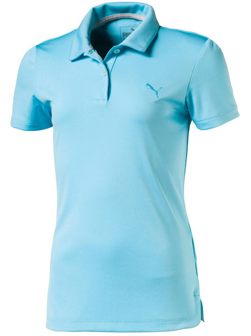 Puma Junior Girls Pounce Polo - Nrgy Turquoise