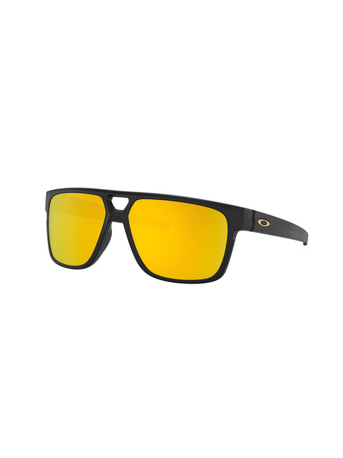 Oakley Crossrange Patch Sunglasses - Black w/ 24K Iridium
