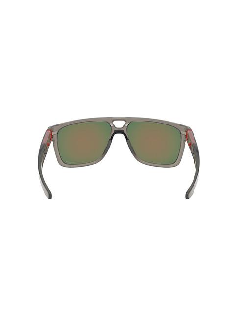Oakley Crossrange Patch Sunglasses - Matte Grey w/ Prizm Ruby