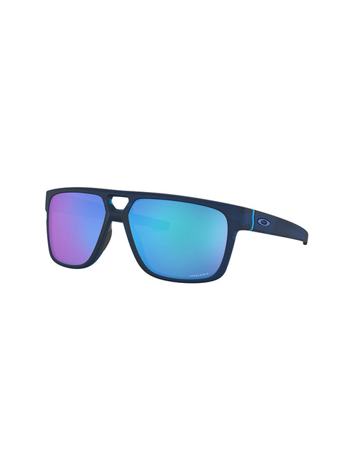 Oakley Crossrange Patch Sunglasses - Matte Translucent Blue w/ Prizm Sapphire