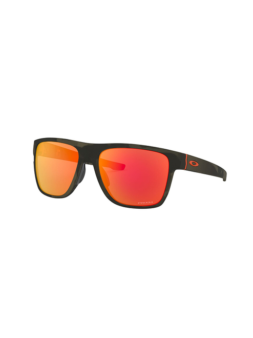 Oakley Crossrange XL Sunglasses - Matte Olive Ink w/ Prizm Ruby