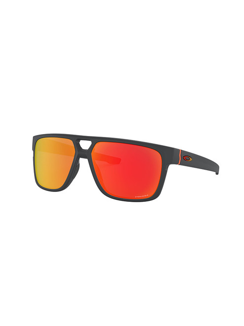 Oakley Crossrange Patch Sunglasses - Matte Carbon w/ Prizm Ruby