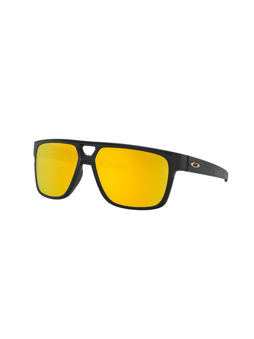 Oakley Crossrange Patch Sunglasses - Matte Black w/ 24K Iridium
