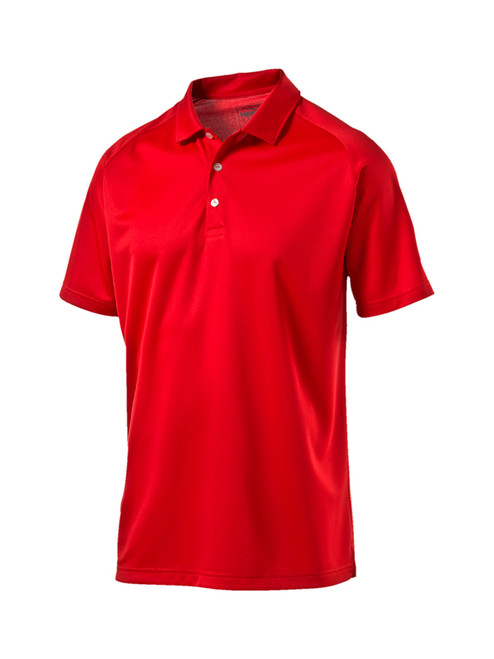 Puma Essential Golf Polo - High Risk Red