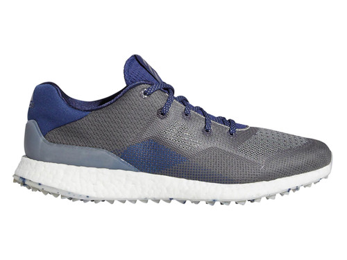 Adidas Crossknit 4 Golf Shoes - Metal Grey/Grey Three/Tech Indigo